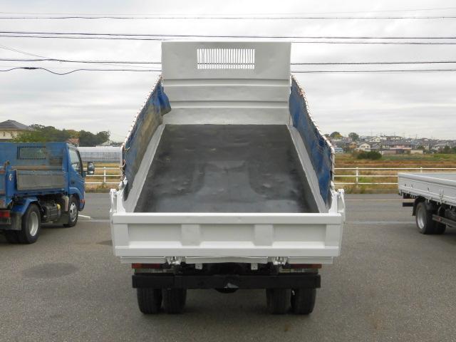 3方開2トン積高床ダンプ・コボレーン付・排出ガス浄化装置(8枚目)