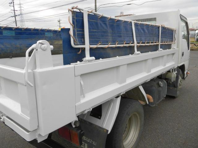 3方開2トン積高床ダンプ・コボレーン付・排出ガス浄化装置(15枚目)