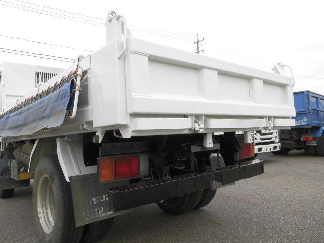 3方開2トン積高床ダンプ・コボレーン付・排出ガス浄化装置(17枚目)