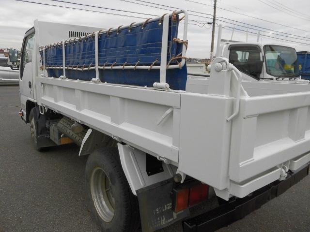 3方開2トン積高床ダンプ・コボレーン付・排出ガス浄化装置(18枚目)