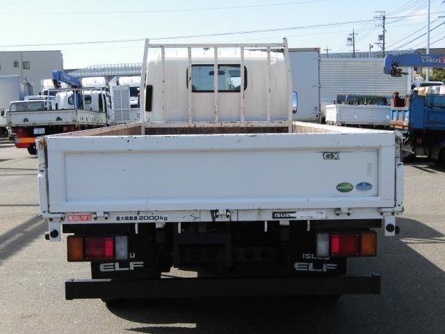 ロング・3方開・平ボディ・2トン積・床板張・排出ガス浄化装置(9枚目)