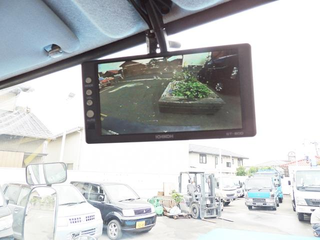 高所作業車 AICHI製 SE08C バックビューカメラ(14枚目)