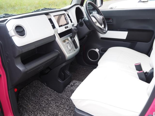 G ハスラー G セットオプション装着車 社外ナビ バックカメラ ETC アイドリングストップ シートヒーター(2枚目)