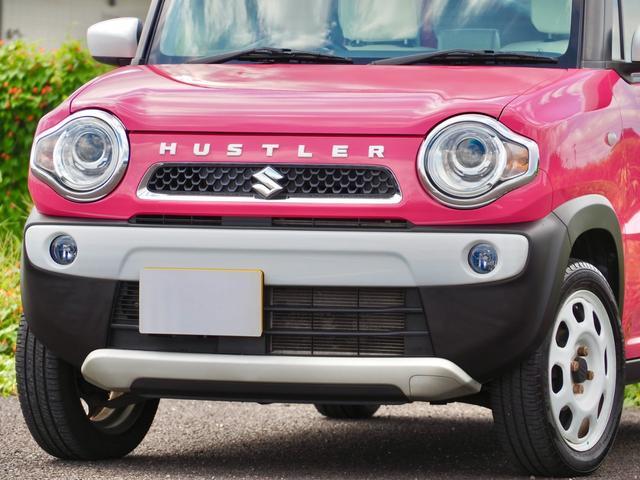 G ハスラー G セットオプション装着車 社外ナビ バックカメラ ETC アイドリングストップ シートヒーター(19枚目)