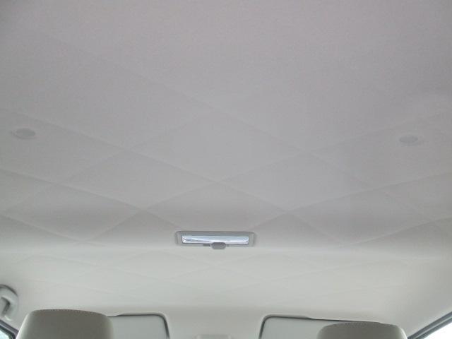 車内天井は、キルティング調になっています。
