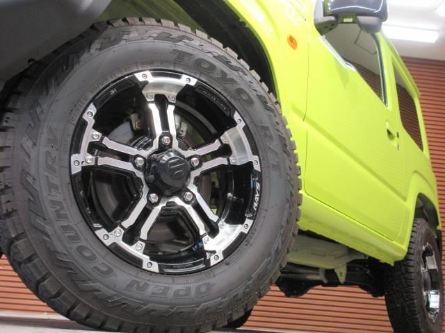 XL 8型SDナビ フルセグTV 衝突軽減 レイズ16インチAW ETC車載器 シートヒーター 車線逸脱警報 スマートキー 5速MT オープンカントリータイヤ オートヘッドライト(19枚目)