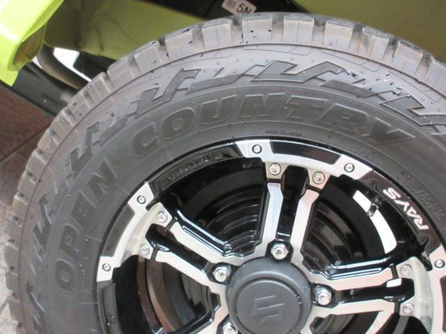 XL 8型SDナビ フルセグTV 衝突軽減 レイズ16インチAW ETC車載器 シートヒーター 車線逸脱警報 スマートキー 5速MT オープンカントリータイヤ オートヘッドライト(22枚目)