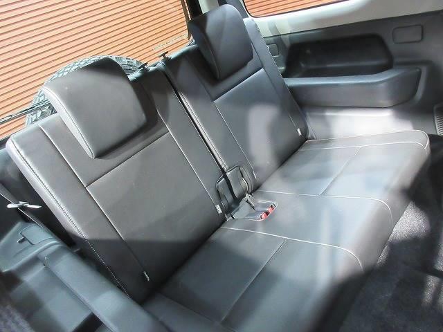 ランドベンチャー 4WD 社外マフラー 社外AW 5速MT ターボ オーディオ 背面タイヤ レザーシート シートヒーター ステアリングリモコン TERZOルーフキャリア ツィーター フォグランプ(6枚目)