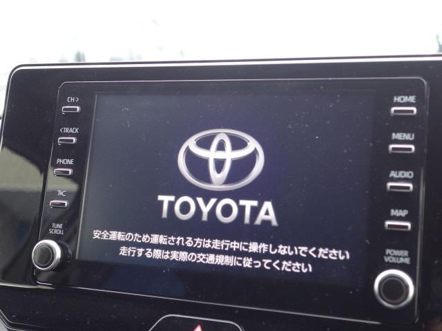 S 新車未登録 8型ディスプレイオーディオ セーフティセンス 衝突軽減 レーダークルーズコントロール クリアランスソナー スマートキー 純正AW Bluetoothオーディオ(3枚目)
