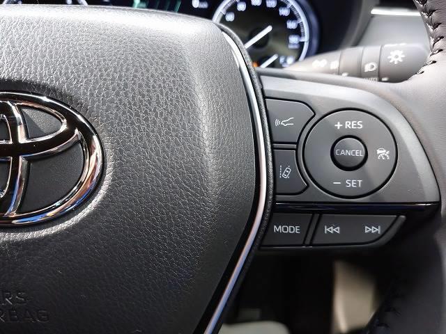 G 新車未登録 ディスプレイオーディオ バックモニター セーフティS レーダークルーズ 衝突軽減 スマートキー ハーフレザーシート 電動リアゲート Bluetoothオーディオ 電動シート 純正AW(7枚目)