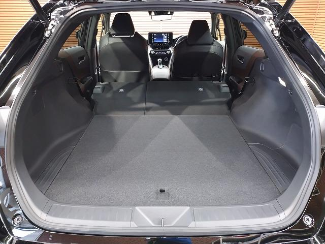G 新車未登録 ディスプレイオーディオ バックモニター セーフティS レーダークルーズ 衝突軽減 スマートキー ハーフレザーシート 電動リアゲート Bluetoothオーディオ 電動シート 純正AW(38枚目)