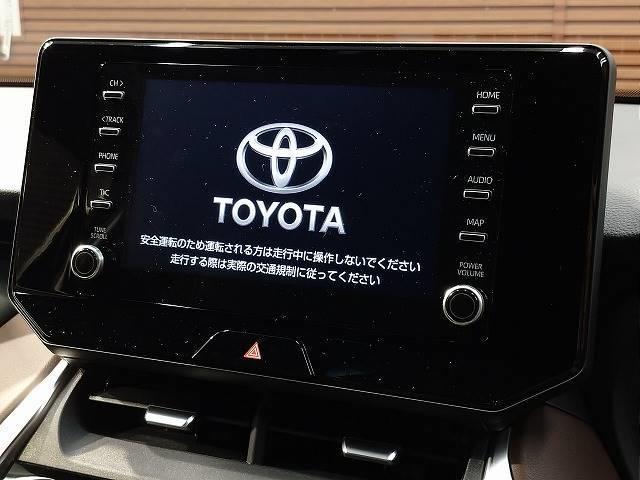 G 新車未登録 8型ディスプレイオーディオ バックモニター スマートキー レーダークルーズ セーフティS ハーフレザー 電動リアゲート 純正18インチAW Bluetoothオーディオ(3枚目)