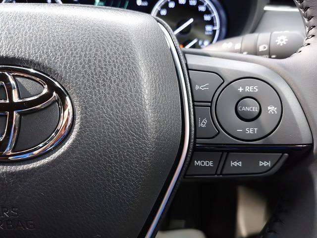 G 新車未登録 8型ディスプレイオーディオ バックモニター スマートキー レーダークルーズ セーフティS ハーフレザー 電動リアゲート 純正18インチAW Bluetoothオーディオ(33枚目)