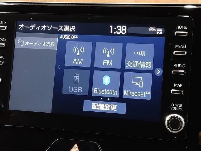 G 新車未登録 8型ディスプレイオーディオ バックモニター セーフティS レーダークルーズ 衝突軽減 ハーフレザー 電動リアゲート スマートキー Bluetoothオーディオ 純正18インチAW(3枚目)