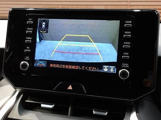 G 新車未登録 8型ディスプレイオーディオ バックモニター セーフティS レーダークルーズ 衝突軽減 ハーフレザー 電動リアゲート スマートキー Bluetoothオーディオ 純正18インチAW(4枚目)