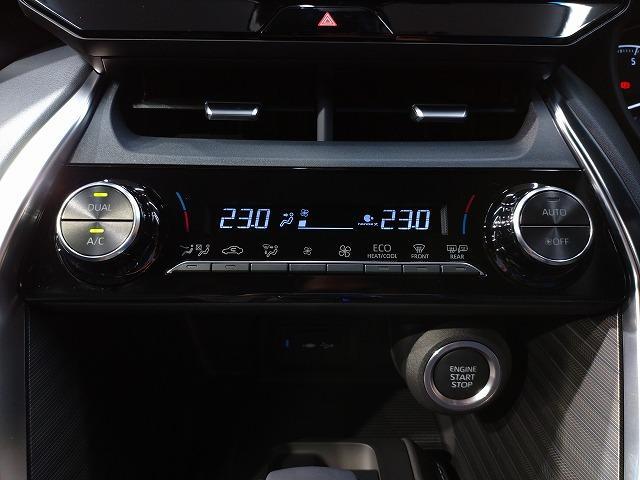 G 新車未登録 8型ディスプレイオーディオ バックモニター セーフティS レーダークルーズ 衝突軽減 ハーフレザー 電動リアゲート スマートキー Bluetoothオーディオ 純正18インチAW(37枚目)