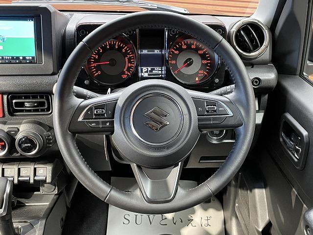 XC 4WD リフトアップ カスタム LEDヘッドライト フォグランプ オートライト シートヒーター シートカバー 革巻きステアリング ステアリングスイッチ クルーズコントロール ダウンヒルアシスト(21枚目)