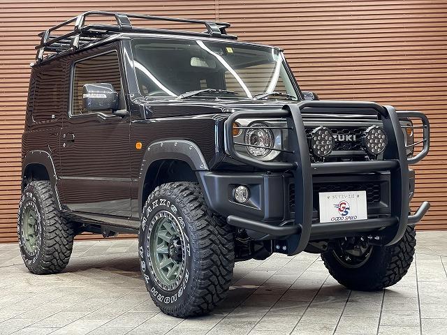 XC 4WD リフトアップ カスタム LEDヘッドライト フォグランプ オートライト シートヒーター シートカバー 革巻きステアリング ステアリングスイッチ クルーズコントロール ダウンヒルアシスト(35枚目)