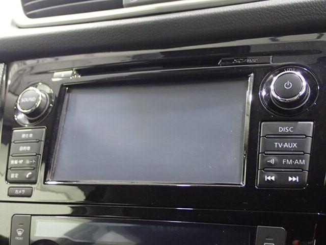 メーカーHDDTV装備で、ロングドライブも快適。