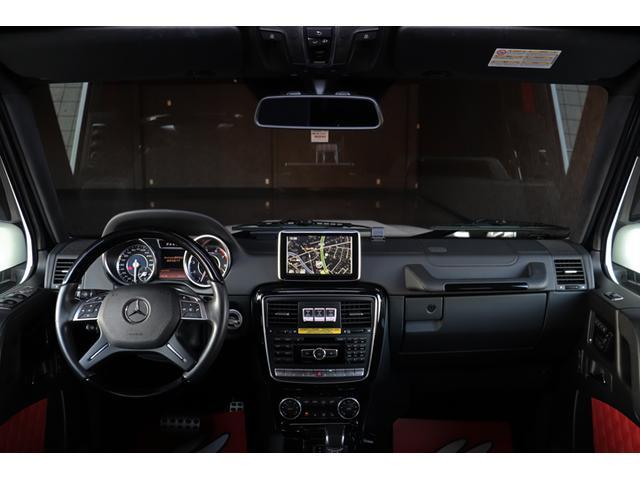 G63 AMG デジーノエクスクルーシブI 禁煙 SR 赤革(3枚目)