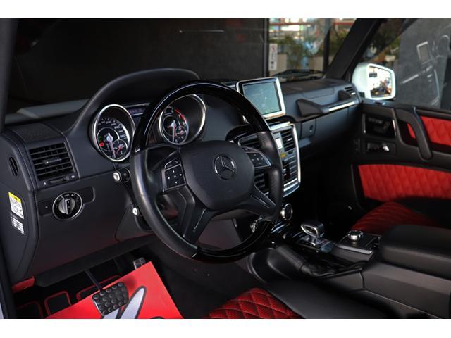 G63 AMG デジーノエクスクルーシブI 禁煙 SR 赤革(17枚目)