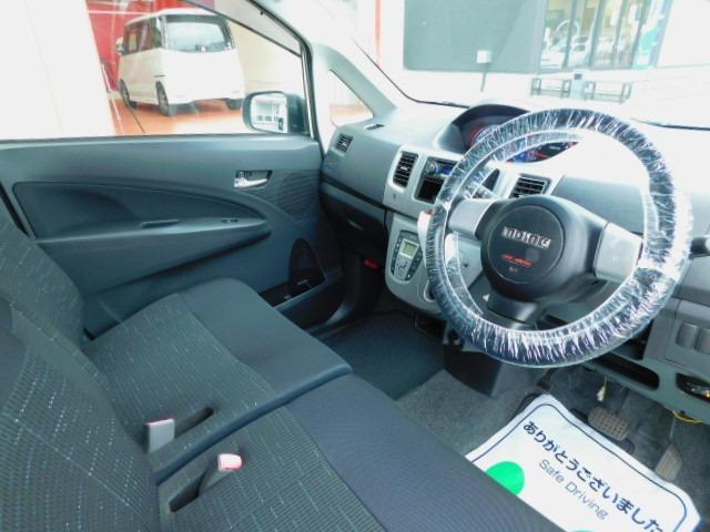 カスタム RS 1年保証 ターボ エアロ スマートキー プッシュスタート 社外アルミ ETC HID フォグライト オートライト オートエアコン モモステアリング 電格ミラー ベンチシート タイミングチェーン(13枚目)
