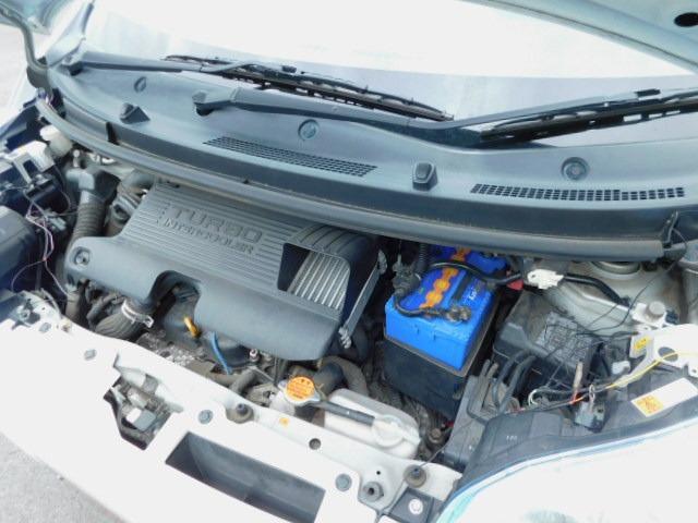 カスタム RS 1年保証 ターボ エアロ スマートキー プッシュスタート 社外アルミ ETC HID フォグライト オートライト オートエアコン モモステアリング 電格ミラー ベンチシート タイミングチェーン(71枚目)