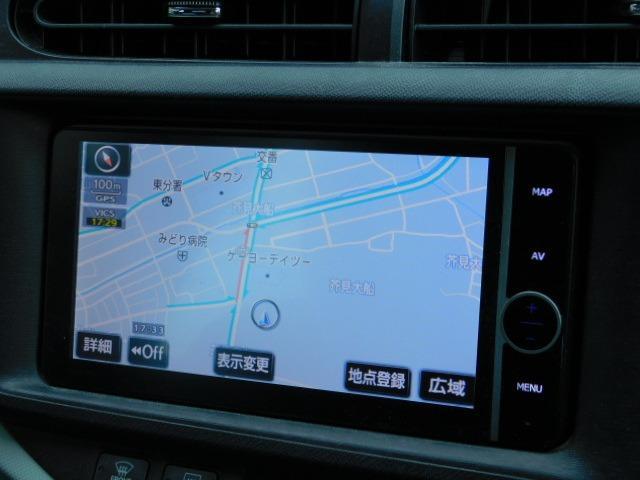 S 1年保証付 純正HDDナビ フルセグ 地デジTV Bluetooth接続 バックカメラ ETC オートライト 社外アルミ オートエアコン エアロ プッシュスタート スマートキー 電格ミラー 腐食無し(3枚目)