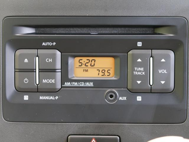 ハイブリッドFX セーフティパッケージ装着車 純正オーディオ(3枚目)