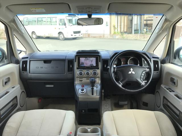 4WD 両側パワスラ ROARエアロ HDDナビ 後席モニタ(4枚目)
