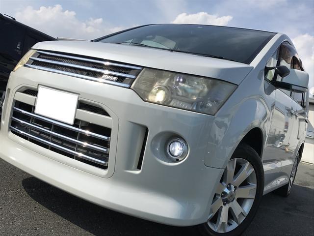 4WD 両側パワスラ ROARエアロ HDDナビ 後席モニタ(6枚目)