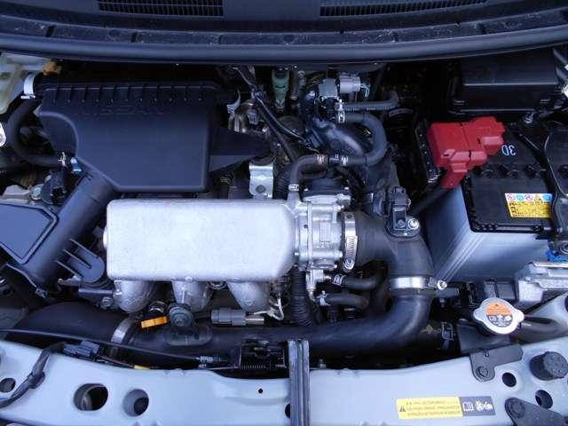 パワフルで低燃費なエンジンとエクストロニックCVTのコンビ!常に効率のいいエンジン回転数をキープし、低燃費に貢献する組合せです。