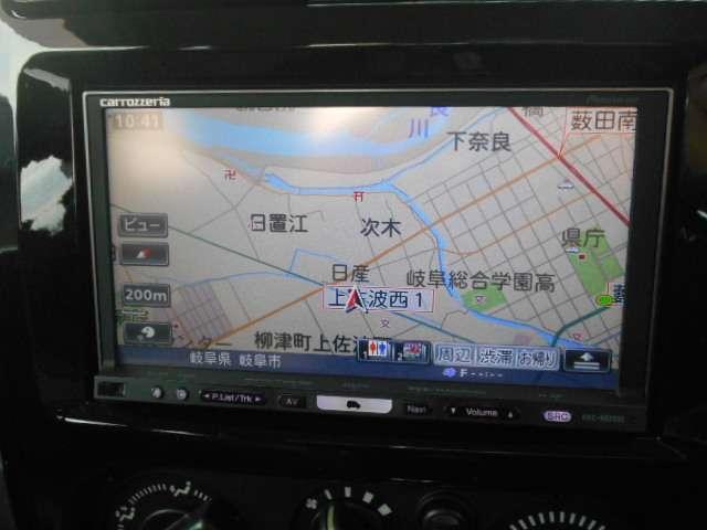 クロスアドベンチャー 4WD 社外HDDナビ フルセグ 社外ETC(6枚目)