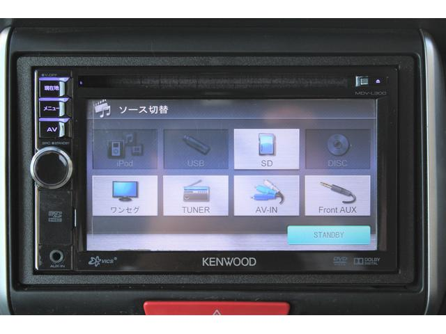 G SSパッケージ 両側電動スライドドア 社外ナビ ワンセグ ETC USB端子 アイドリングストップ 横滑防止 オートライト プッシュスタート スマートキー オートエアコン 純正14インチAW HIDヘッドライト CD(9枚目)