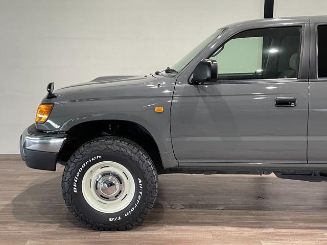 SSR-X NEWペイントグレー リフトアップ ナローボディー DEANホイール 社外マフラー ヒッチメンバー 4WD ディーゼル オレンジコーナーレンズ(44枚目)