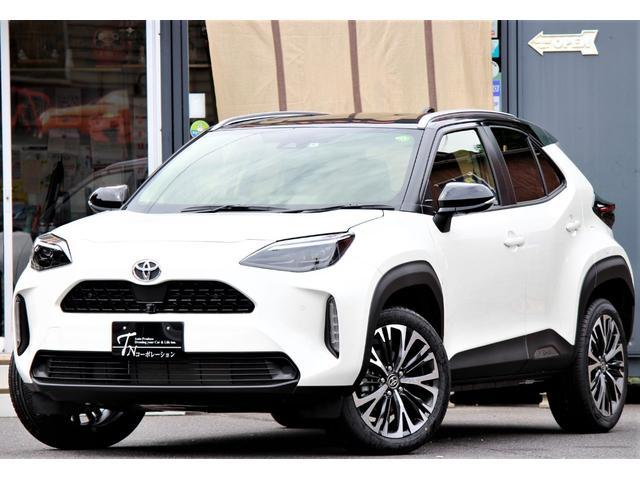 「トヨタ」「ヤリスクロス」「SUV・クロカン」「岐阜県」の中古車4