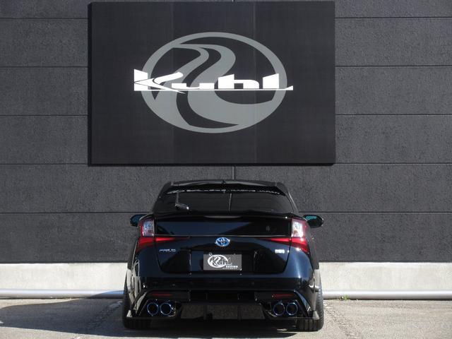 S 新車カスタムコンプリート KUHLフルエアロ BLITZ車高調 VERZ19インチアルミホイール KUHL4テールスラッシュマフラー(8枚目)