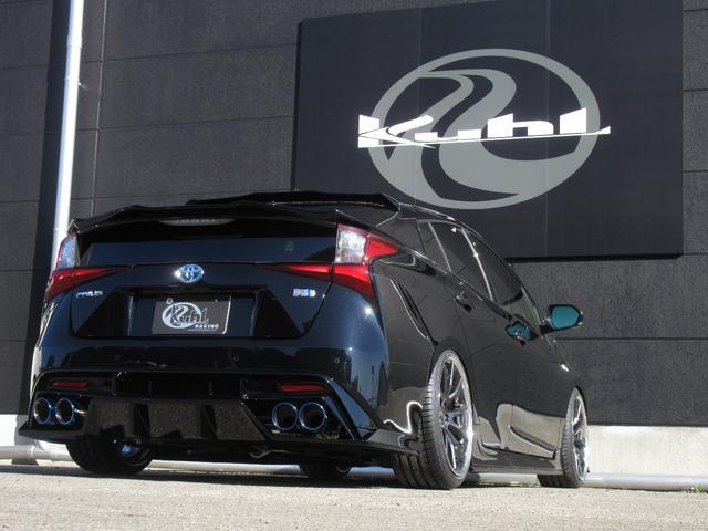 S 新車カスタムコンプリート KUHLフルエアロ BLITZ車高調 VERZ19インチアルミホイール KUHL4テールスラッシュマフラー(9枚目)