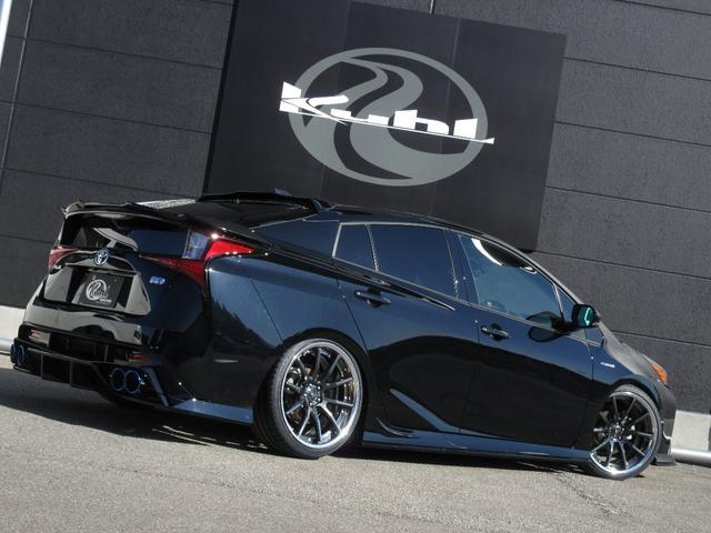 S 新車カスタムコンプリート KUHLフルエアロ BLITZ車高調 VERZ19インチアルミホイール KUHL4テールスラッシュマフラー(12枚目)