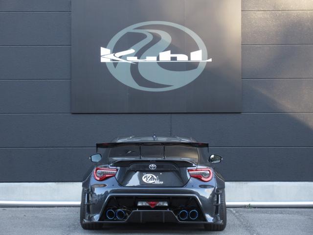 装着オプションパーツ合計250万円以上!KUHLRACINGフルエアロ&オーバーフェンダー!!BLITZ車高調、WORK19インチアルミ!!VOLTEXカーボンGTウイング!!