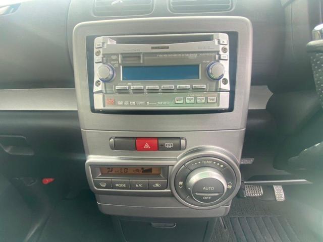 カスタム X スマートキー 社外CDオーディオ フォグランプ 純正アルミ ETC 電動格納ミラー パワステ パワーウィンドウ Pガラス オートエアコン エアバック ABS(24枚目)
