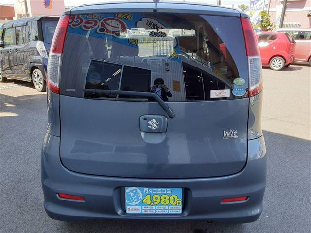 ウィット XS 純正オーディオ スマートキー ETC 純正14インチアルミホイール プライバシーガラス 電動格納ミラー フォグランプ ABS(9枚目)
