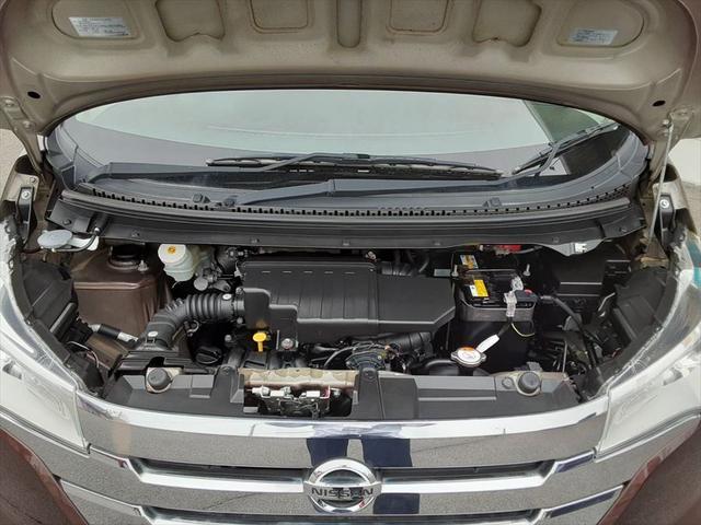 ハイウェイスターX Vセレクション+セーフティII 1年保証付 衝突軽減ブレーキ アラウンドビューモニター Bluetooth スマートキー HIDヘッドライト オートエアコン アイドリングストップ フォグランプ(45枚目)