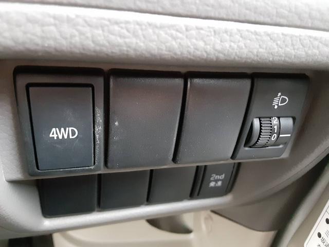 PA 1年保証付 ハイルーフ 4WD エアコン パワーステアリング 両側スライドドア ABS 2nd発進 オ-トレベライザー(37枚目)