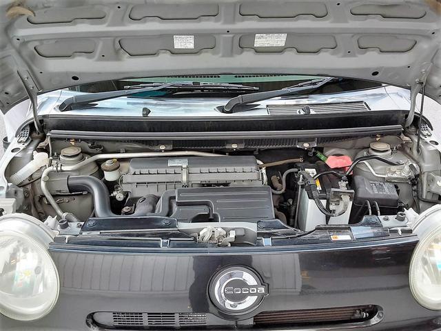 ココアプラスG 1年保証付 スマートキー ETC フォグランプ オートエアコン プライバシーガラス 電動格納ミラー セキュリティ(33枚目)