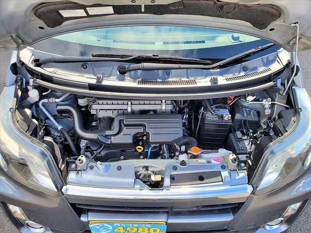 カスタム X SA 1年保証付 スマートキー&プッシュスタート オートライト LEDヘッドライト オートエアコン アイドリングストップ フォグランプ 純正アルミホイール(38枚目)