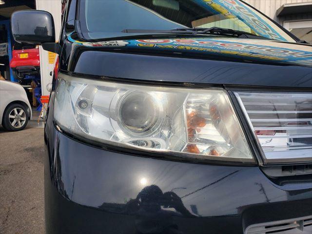 X スマートキー プッシュスタート HID フォグランプ 純正アルミ プライバシーガラス ABS 社外オーディオ(12枚目)