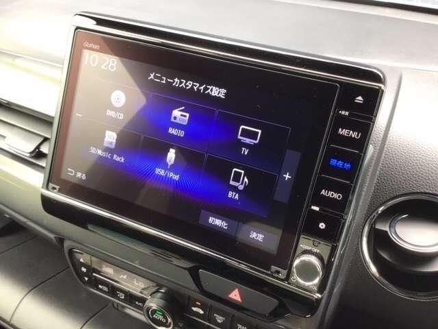 L・ターボホンダセンシング 8インチインターナビ ETC Bluetooth接続 フルセグTV DVD再生 バックカメラ 急速充電USB ドライブレコーダー シートヒーター LEDヘッドライト 純正アルミ 2年間無料保証付(9枚目)