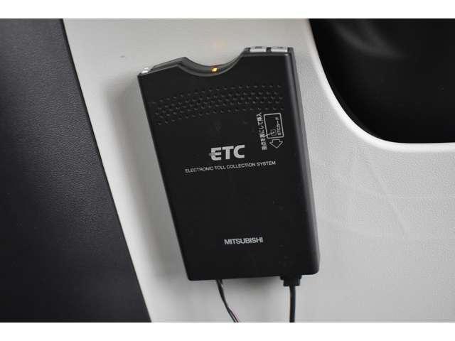 ETCも装備!高速道路の料金所もスイスイ通過◇ロングドライブの必需品です♪深夜、休日などの割引もありお得です。