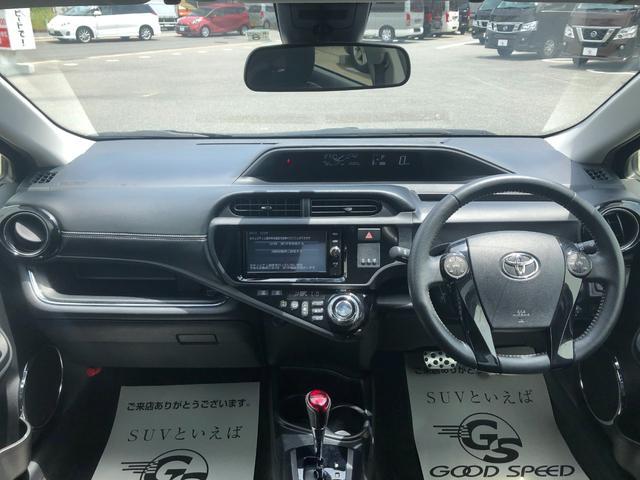 G G's 純正フルセグSDナビ Bluetooth プリクラッシュブレーキ レーンディパーチャーアラート バックカメラ ハーフレザー ビルトインETC シートヒーター スマートキー&プッシュスタート LED(2枚目)